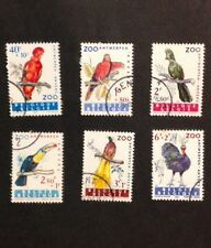 Belgium 1962 VF Used Set of 6