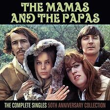 Mamas and Papas - Complete Singles: 50th Anniversary Coll. cd - Like New.  USA