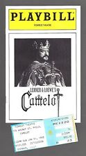 """Robert Goulet """"CAMELOT"""" Patricia Kies / Lerner & Loewe 1993 Tryout Playbill"""