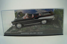 Modello di auto 1:43 James Bond 007 CHEVROLET BEL AIR * Dr. no n. 33