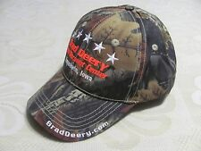NEW Brad Deery Auto Discount Center Baseball Cap Maquoketa Iowa Camo HuntinHat