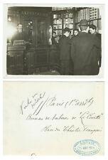 photo archives Parisien/ commerce Bureau de tabac de la Civette Paris 1914