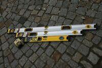 3er SET Stanley Magnetwasserwaage, Wasserwaage, 120/90 & 60 cm + 8 m Bandmass