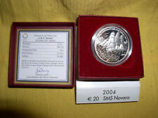 Österreich 20 Euro Silber 2004 PP  Novara