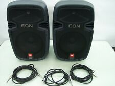 JBL EON 210P 4 CHANNEL MIXER AND 2 SPEAKERS / MIXER BY SOUNDCRAFT / PA SYSTEM