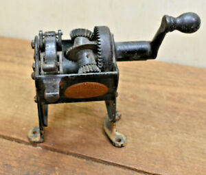 L129- 1896 ANTIQUE PLANETARY PENCIL SHARPENER POINTER MADE BY A.B DICK COMPANY