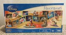 "NEW Disney Panoramas Mega 750 piece ""Movie Moments"" Jigsaw Puzzle Factory Sealed"