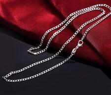 NEU 925 Sterling Silber Kette PANZER Halskette 60cm TOP PREIS GESCHENK NUR 7,90€