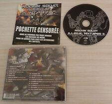 CD ALBUM ILLEGAL MIXTAPES VOL 3 ROCKIN' SQUAT 18 TITRES 2012