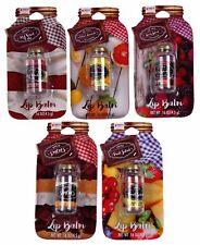 3 Piece Lot Taste Beauty Ice Cold Citrus Lemonade .16 oz. Mason Jar Lip Balms