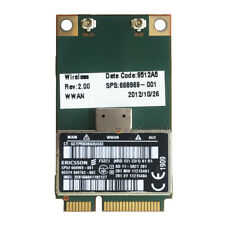Unlocked Ericsson F5321 hp 668969-001 Wireless 3G 21M HSPA+ WWAN Mini PCI-E card