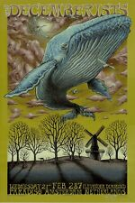 MINT & SIGNED EMEK Decemberists Amsterdam 2007 OLIVE POSTER OF THE YEAR 2/15
