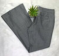 Elie Tahari Womens Dress Pants Sz 6 Gray Slacks With Authentication Card