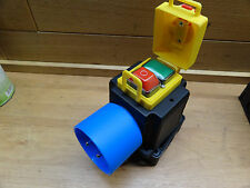 KEDU Motorstarter KOA2T 1~, Taster oben 250V , Schalter Steckdose