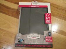 Griffin Survivor Journey Folio Ultra Slim Protection Case For iPad Mini 4