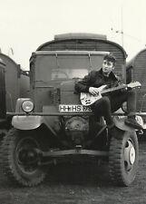 Truck - Hamburg Heiligengeistfeld 1960 Vintage Postcard by John Lennon VD 4896