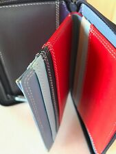 Mywalit Card Holder Zip Leather  Multi 9 + 2 Interior Pockets