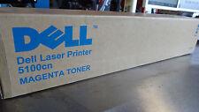 New Sealed Dell Laser Printer 5100cn Magenta Toner