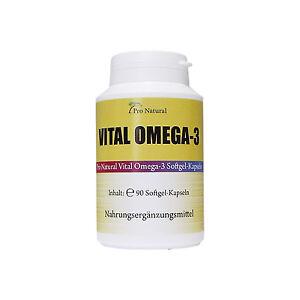 Vital Gold Omega 3 Fischöl 2000 mg - 660 EPA 440 DHA pro Dosis spitzen Qualität