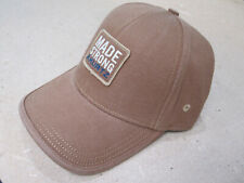 "A. KURTZ Made Strong Baseball Cap Cotton Blend Fitted ""Brown"""