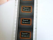 35mm TRUANT STUDENT. Windy Bear Universal cartoon. IB Technicolor. Film cells.
