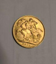 More details for edward vll - full sovereign - gold - 1910  superb condition