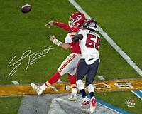 "Shaq Barrett Buccaneers SB LV Champs Signed 8"" x 10"" Super Bowl LV Action Photo"
