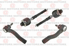 Steering Parts Front Inner & Outer R&L Tie Rod Ends Fits Mercury Milan New