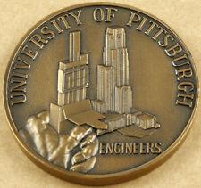 University of Pittsburgh School of Engineering Medal 75mm