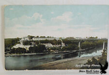 Litho PC View of Fort Snelling St. Paul MN Jan 30 1919 Date HARD TO FIND
