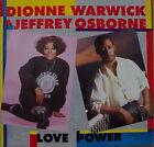 "DIONNE WARWICK/JEFFREY OSBORNE/BACHARACH LOVE POWER MAXI 45T 12"" GERMAN PRESS LP"