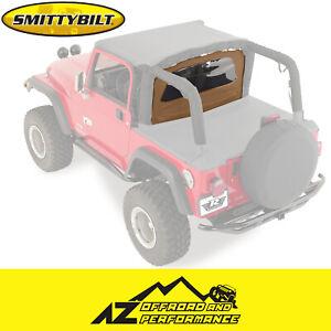 Smittybilt Outback Wind Breaker For 76-06 Jeep CJ-7 Wrangler 90017 Spice Denim
