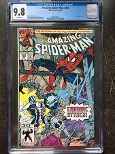 AMAZING SPIDER-MAN #359 CGC NM/MT 9.8; White pg!; Bagley cover (2/92)!