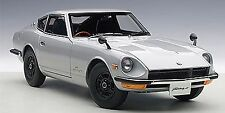 Autoart 1969 NISSAN FAIRLADY Z432 SILVER in 1/18 Scale. New Release!  In Stock!