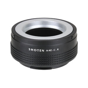 SHOTEN adapter for M42 mount lens to CANON EOS RF Mount Camera