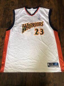 RARE GOLDEN STATE WARRIORS JASON RICHARDSON #23 JERSEY NBA BASKETBALL REEBOK 2XL