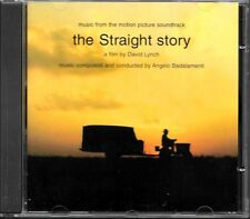 THE STRAIGHT STORY - BADALAMENTI (B.O.F SOUNDTRACK O.S.T) ALBUM CD COMME NEUF