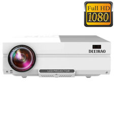 New Native 1080P Full HD Home Theater Projector LED Light HDMI USB VGA 1920*1080