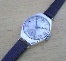 Art Nouveau Silver & Gold Ladies Watch 1917  Antiguo Plata y Oro Reloj De Mujer