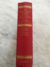 The Amy Vanderbilt book of etiquette a guide to contemporary living.vintage*rare