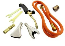 T3 NEW HEATING TORCH SET PROPANE GAS BLOW PLUMBER ROOFING SOLDERING UK STOCK
