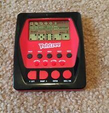 Yahtzee Handheld Digital Game Excellent Condition