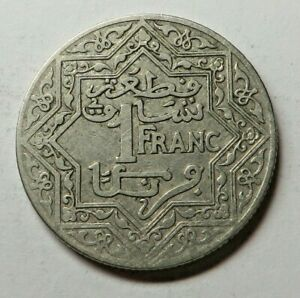 Morocco Franc ND(1921)Pa Nickel Y#36.1