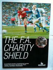 MINT 1994 Charity Shield Blackburn Rovers v Manchester United