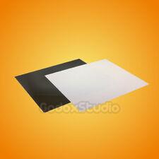 Black & White 60x60cm Photo Acrylic Reflection Mirror Board Display Platform