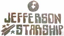 VINTAGE 70's JEFFERSON STARSHIP T-SHIRT TRANSFER