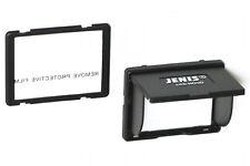 Bilora Lichtschacht + Protector SCHWARZ für LCD Displays 2,5 Zoll (NEU/OVP)