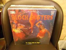 BLOCK BUSTERS The Young Sound Of Today LP VG+ Oscar Records OS-117 Stereo Psych