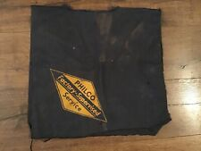 Philco Radio Factory Supervised Service Table Work Bench Cloth Repair Shop