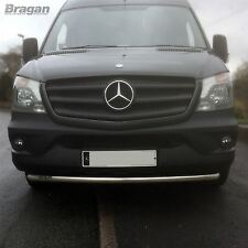 To Fit 06 - 14 Mercedes Sprinter Stainless Steel Front Bumper Spoiler Nudge Bar
